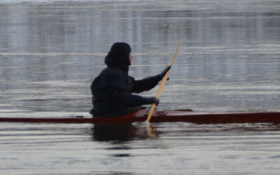 The repetitive nature of paddle strokes
