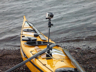 GoPro Cameras and Kayaks
