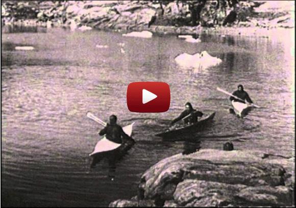 Vintage kayak (rolling) films