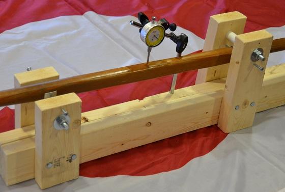 Paddle flexibility measurement
