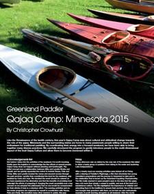 Qajaq Camp Minnesota 2015