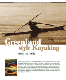 Greenland Style Kayaking – where it all started